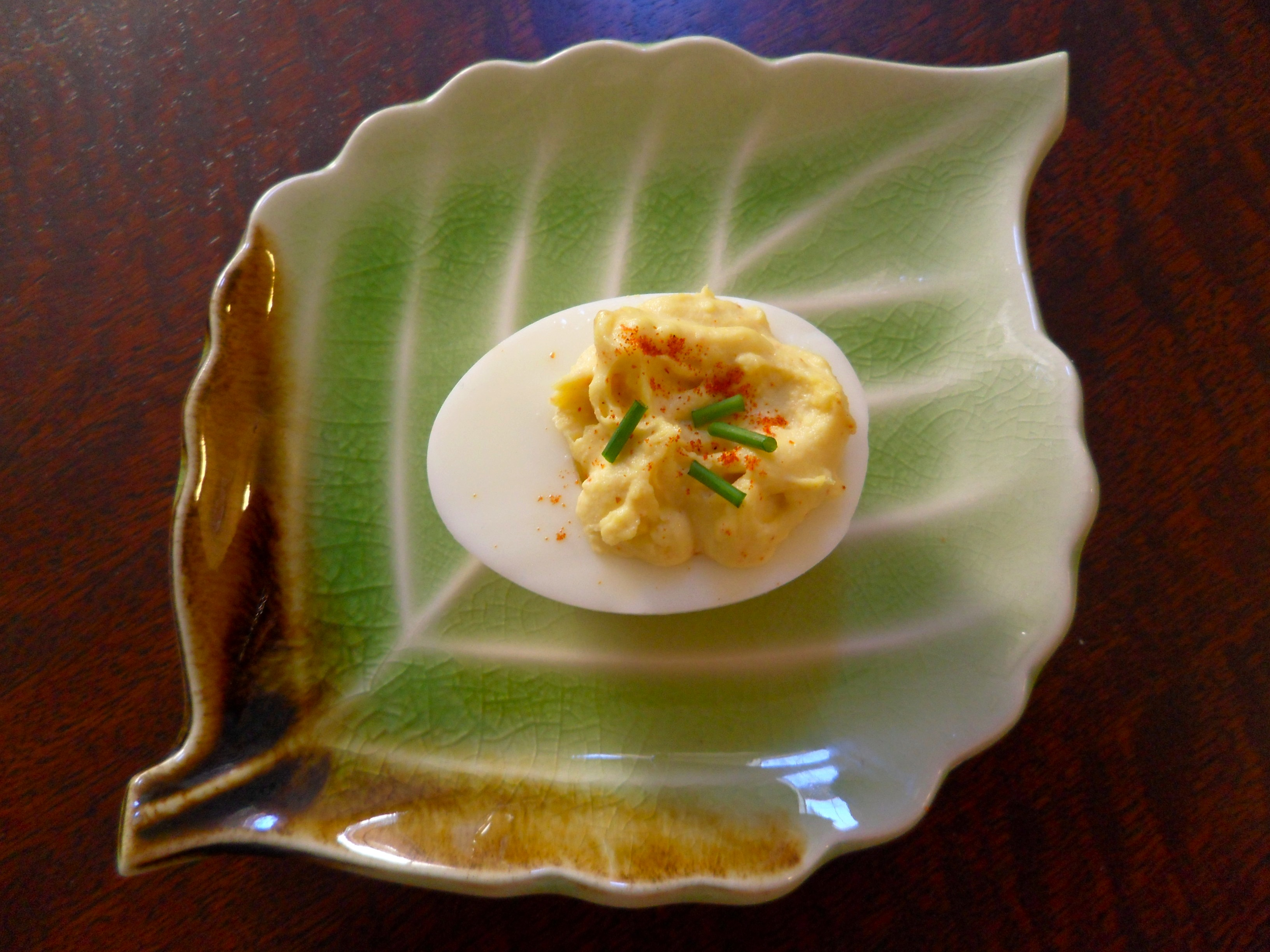 Homemade Mayonnaise and Deviled Eggs |