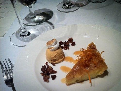 Thanksgiving Dessert at the Claremont Hotel