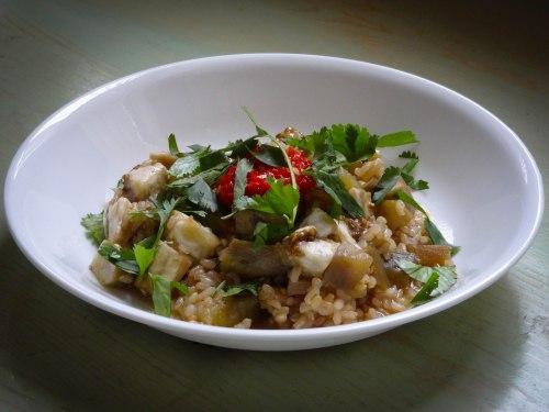 eggplant-rice