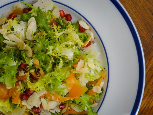 winter-frise-salad-recipe-overhead