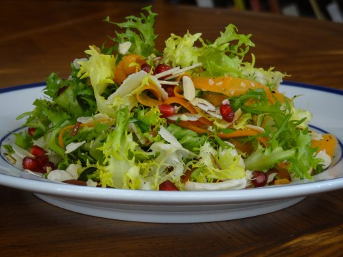 winter-frise-salad-recipe-side