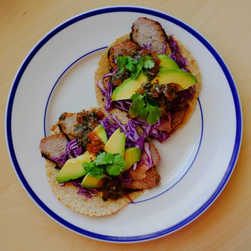 steak-taco-with-sweet-sour-cilantro-sauce