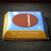 CocoaPlanet Salted Caramel Dark Chocolate