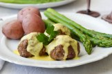 Lamb Meatballs with Lemon Sauce