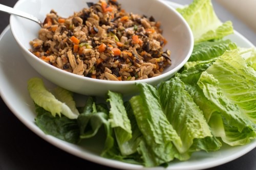 spicy-turkey-lettuce-boats-bowl