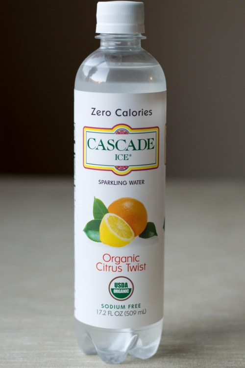 Cascade Ice Organic Citrus Twist